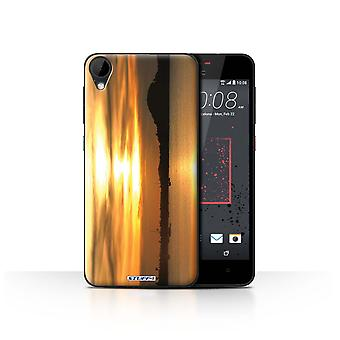 STUFF4 Case/Cover for HTC Desire 825/Yachts/Sunset Scenery