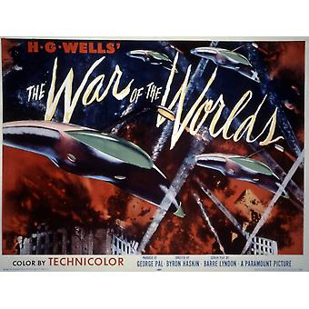 The War Of The Worlds 1953 Movie Poster Masterprint