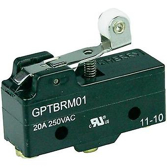 Microswitch 250 Vac 20 A 1 x On/(On) Cherry Switches GPTBRM01 momentary 1 pc(s)