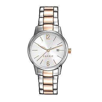 ESPRIT ladies watch bracelet watch Abbie stainless steel bicolor ES100S62016
