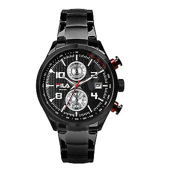 Fila men's watch chronograph stainless steel FA38-008-002