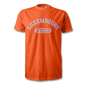 Luxembourg Soccer Kids T-Shirt