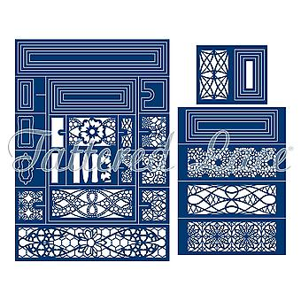 Tattered Lace Concertina Card Die