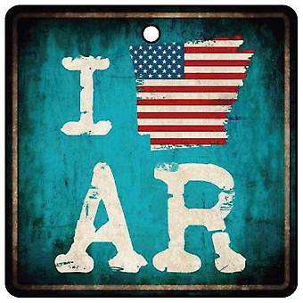 Я люблю Арканзас природных государственной автомобилей освежитель воздуха