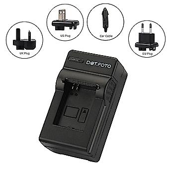 Dot.Foto Canon NB-7L Travel Battery Charger - replaces Canon CB-2LZ, CB-2LZE