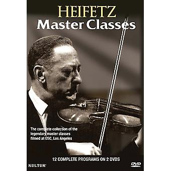J.S. Bach - importazione USA Heifetz Master Classes [DVD]