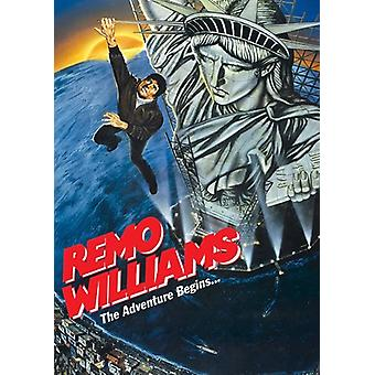 Remo Williams: The Adventure Begins [DVD] USA importerer
