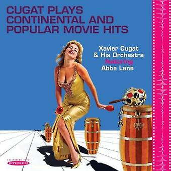 Xavier Cugat & Abbe Lane - Cugat Plays Continental & Popular Movie Hits [CD] USA import