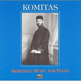 Zemphira Barseghian - Komitas: Música Armenia para la importación de los E.e.u.u. de Piano [CD]