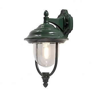 Konstsmide Parma Down Wall Light Green
