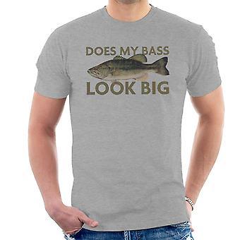 Meu baixo parece t-shirt grande pesca masculina