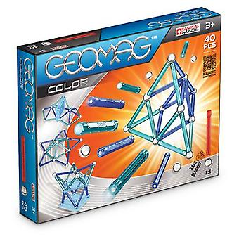 Geomag Color of 40 pieces (Toys , Constructions , Characters And Animals)