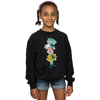 Disney Girls Alice In Wonderland Classic Mad Hatter Sweatshirt