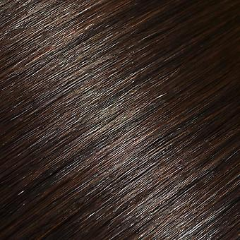 #4 Dark Brunette - Clip-in Hair Extensions - Full Head - #4 - Dark Brunette