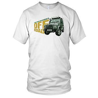 Land Rover Defender Off Road 4 x 4 Mens T Shirt