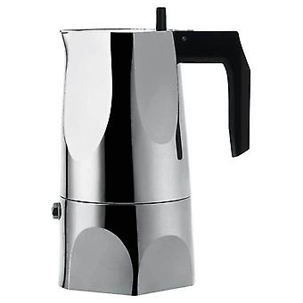 Alessi Ossidiana Stainless Steel Espresso Coffee Maker