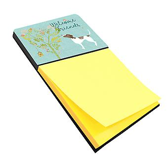 Carolines Treasures  BB7598SN Welcome Friends Pointer Sticky Note Holder