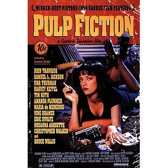Pulp Fiction - Uma Plakat Poster drucken