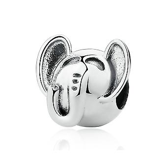 Sterling silver charm Elephant SCC099