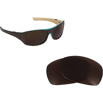 Sideways Replacement Lenses Bronze Brown by SEEK fits OAKLEY Sunglasses