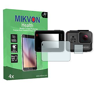 GoPro Hero 5 Screen Protector - Mikvon Health (Retail Package with accessories)