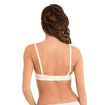 LingaDore 1400-2-4 Women's Daily Lace Ivory Off-White Padded Underwired Balcony Bra