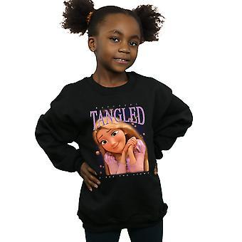 Disney Girls Tangled Rapunzel Montage Sweatshirt