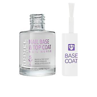 NAIL NURSE CARE base & top coat 5en1