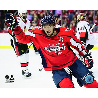 Alex Ovechkin 2017-18 Action Photo Print
