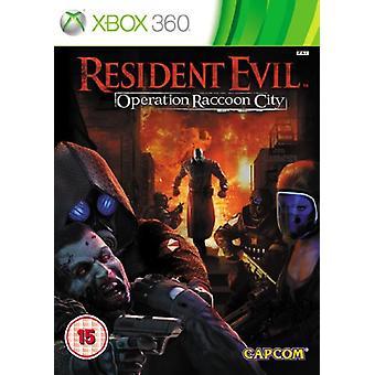 Resident Evil drift vaskebjørn byen (Xbox 360)