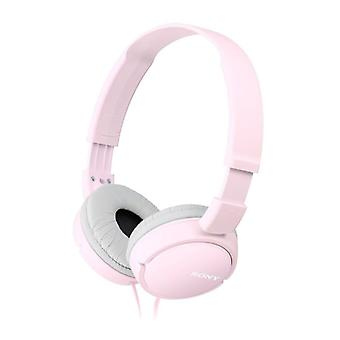 Sony Stereo Headphones Powerful Sound - Pink (Model No. MDRZX110P)