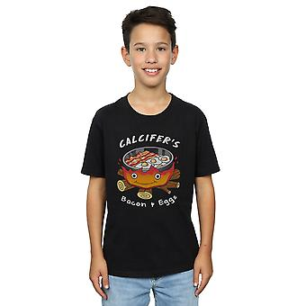 Vincent Trinidad Boys Calcifer's Bacon And Eggs T-Shirt