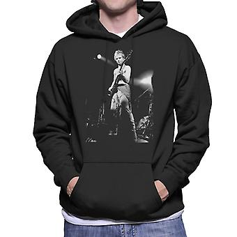 Sting On Bass Live The Police Men's Hooded Sweatshirt