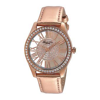 Kenneth Cole New York Damen-Armbanduhr Analog Leder 10012486 / KC2829