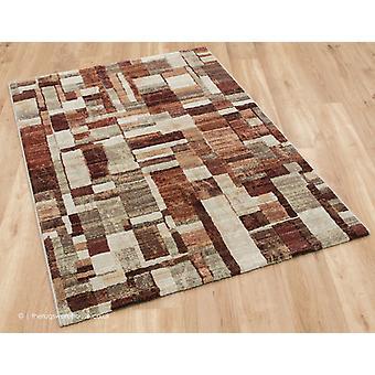 Panache brun tapis