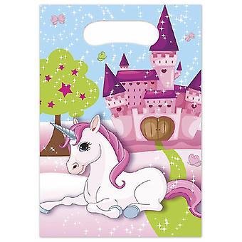 Unicorn Unicorn party bags gift bags 6 piece children birthday theme party