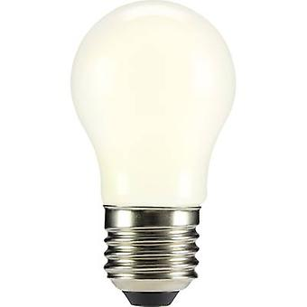 Sygonix LED E27 Droplet 4 W = 37 W Warm white (Ø x L) 45 mm x 84 mm EEC: A++ Filament 1 pc(s)