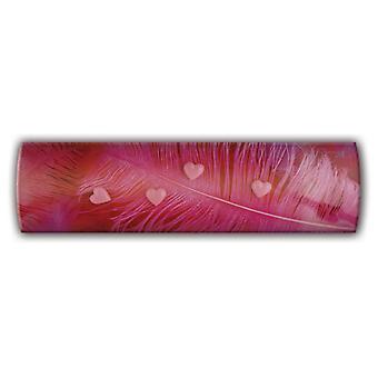Rosa fjäder magnetiska linjära styrelsens anslagstavla - magneter, inte pins