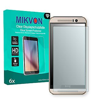 HTC One M9 Screen Protector - Mikvon Clear (Retail Package with accessories)