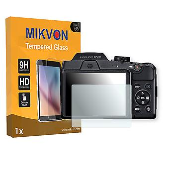 Nikon COOLPIX B500 Screen Protector - Mikvon flexible Tempered Glass 9H (Retail Package with accessories)