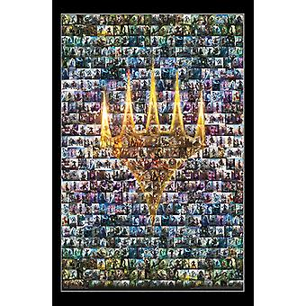 Magic The Gathering - Collage Poster drucken
