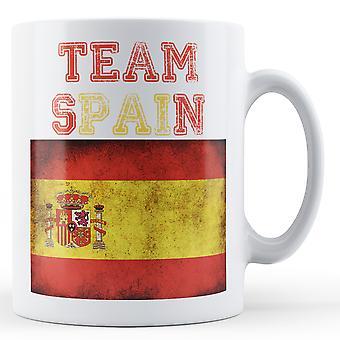 Team Spain - Printed Mug