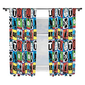 Thomas and friends Curtains 168 x 183 cm