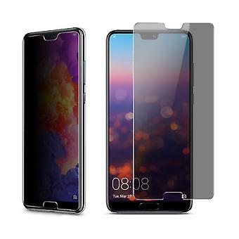 Huawei P20 par protection de vue blindé protection verre anti-spy film 9 H - 10 pièces