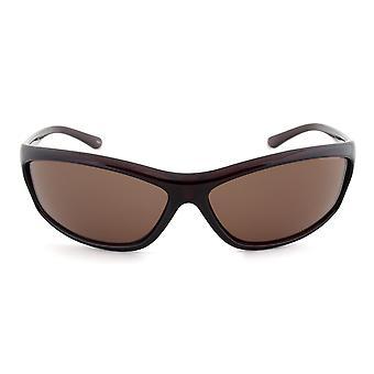 Timberland TB7088 50E Sport Sunglasses | Dark Brown Frame | Brown Lens