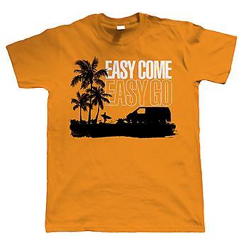 Fácil viene fácil ir T4 autocaravana T Shirt - transportador - regalo para él papá