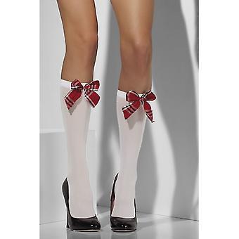 Smiffy's Opaque Knee High Socks