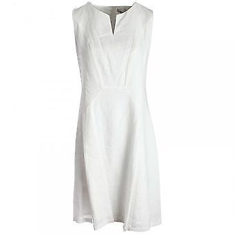 Oui Long Sleeveless Linen Dress