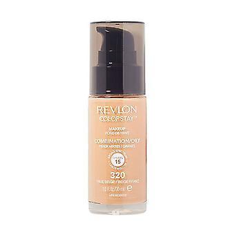 Revlon Colorstay Kombination/fettige Haut-320 wahr Beige 30 ml