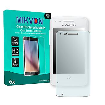 Alcatel One Touch Fire 4012A Screen Protector - Mikvon Clear (Retail Package with accessories)